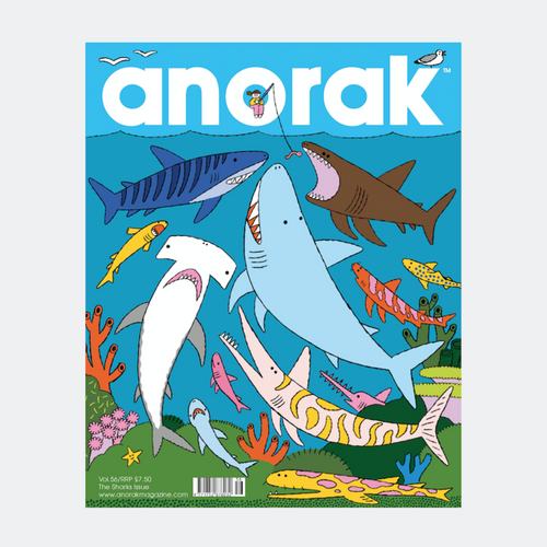 anorak - sharks - volume 56