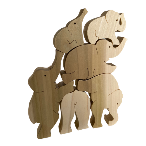 Animal Stackers: Elephants