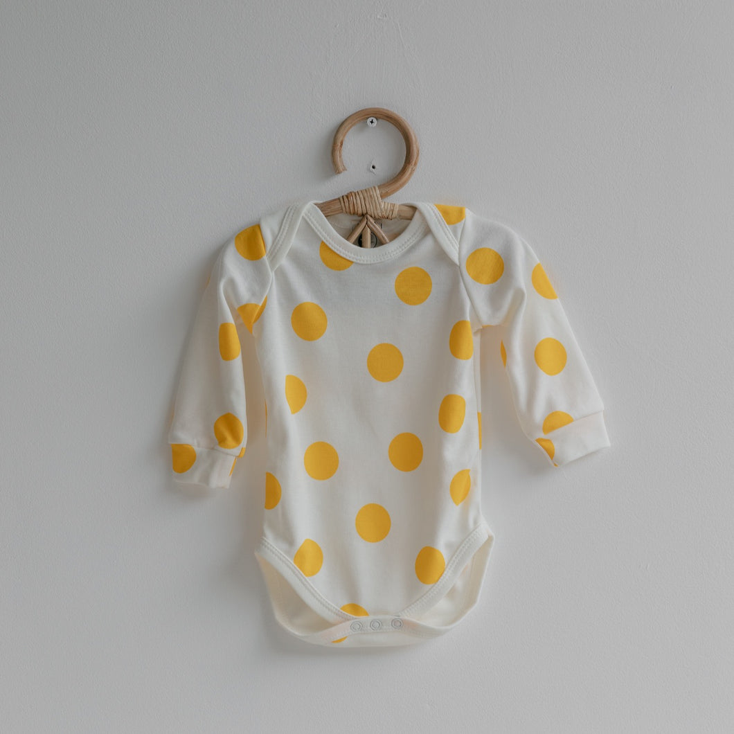 sleepy doe organic cotton baby body sunny spot