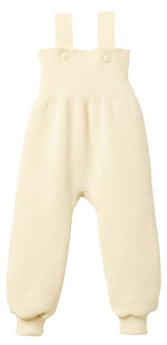 Knitted Trousers: Natural