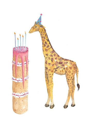 Birthday Cake Giraffe