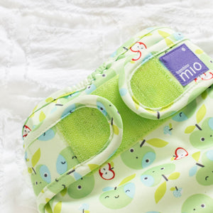 bambino mio reusable nappy cover apple crunch