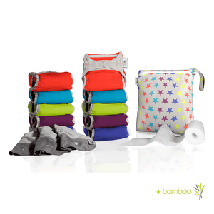 Pop-in V2 Reusable Nappies Box +bamboo