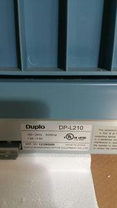 DP-L210 Digital Duplicator (Almost New)