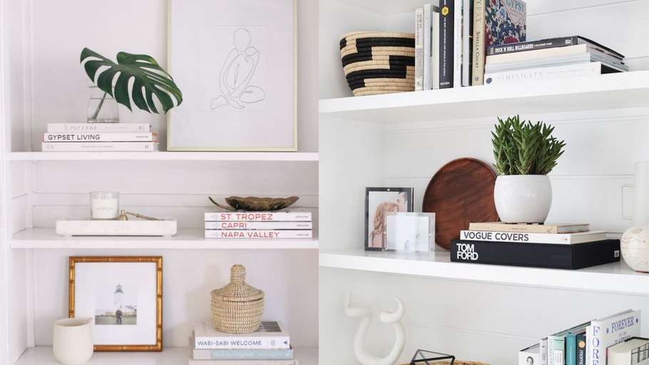 The Full Guide to Shelf Styling