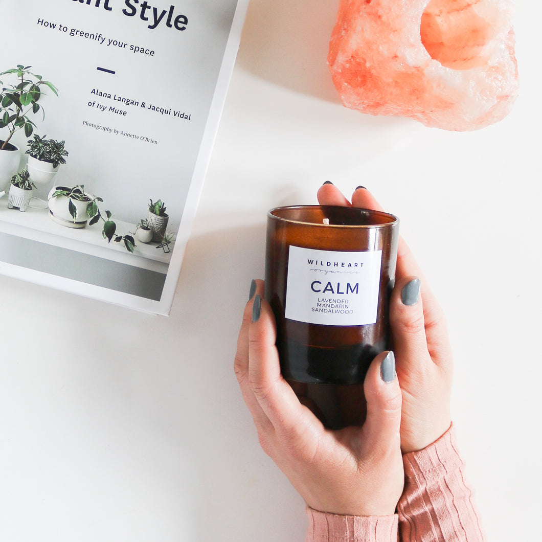 Wildheart Organics Calm Candle