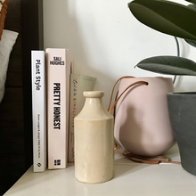 Load image into Gallery viewer, Vintage Bohemian Vase in Cream/Off-White