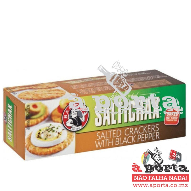 Bakers Salticrax & Black Pepper 200g - CHIP&bis