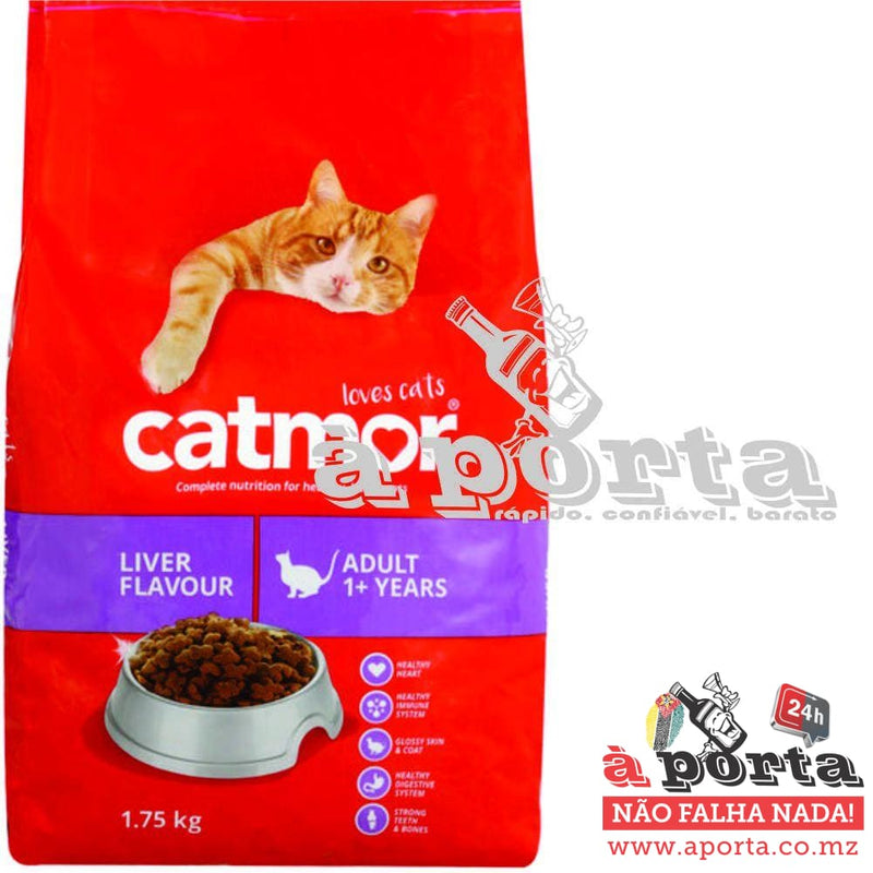 Catmor 1.75kg Dry Food Liver - ANIMAL