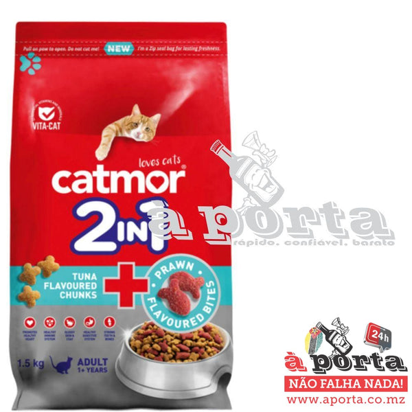 Catmor Tuna & Prawn Bites Adult 1.5kg - Cat