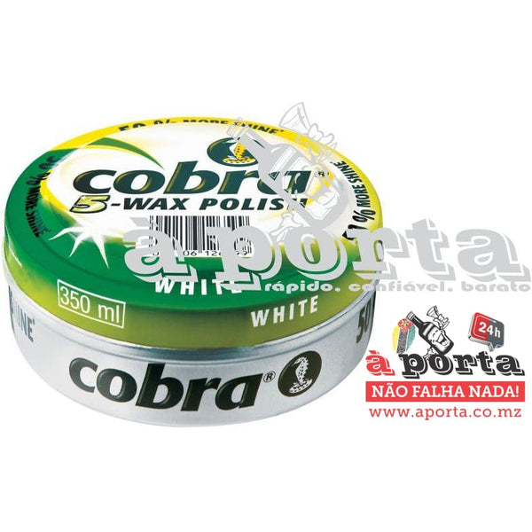 CERA COBRA 350ML WHITE - LIMPEZA