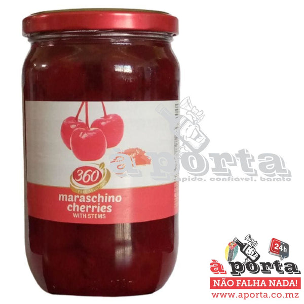 Cherries Maraschino With Steam 750ml - cans