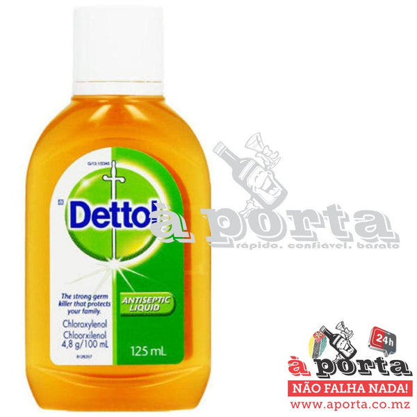 Detol Antiseptic Liquid 125ml - HIGIENE