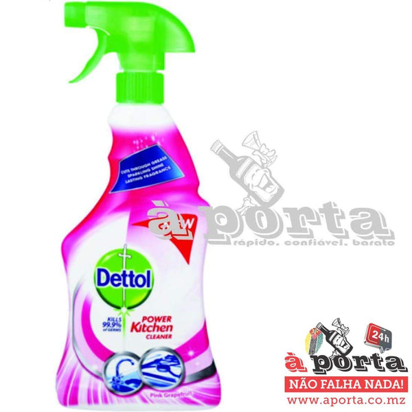 Dettol Kitchen Cleaner 500ml Pink Grapefruit - LIMPEZA