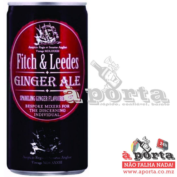 F&L Can Ginger Ale 6 Pack - REFRIGERANTES