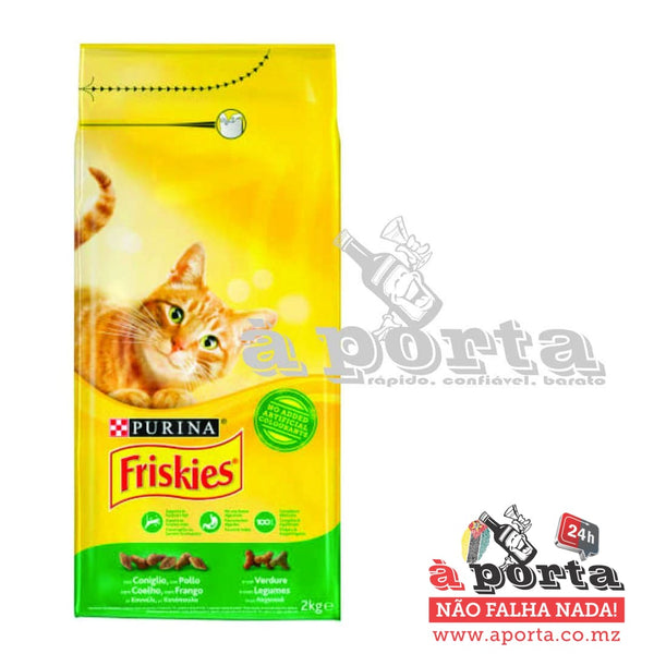 Friskies Cat Dry Rabbit&Veg 2kg - ANIMAL
