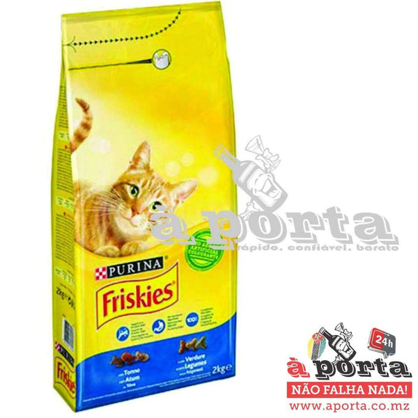 Friskies Cat Dry Tuna&Veg 2kg - ANIMAL