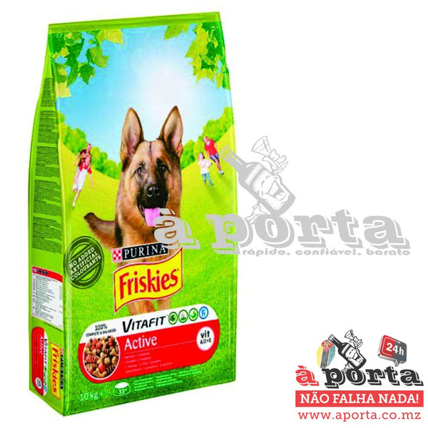 Friskies Dog Active 10kg - ANIMAL