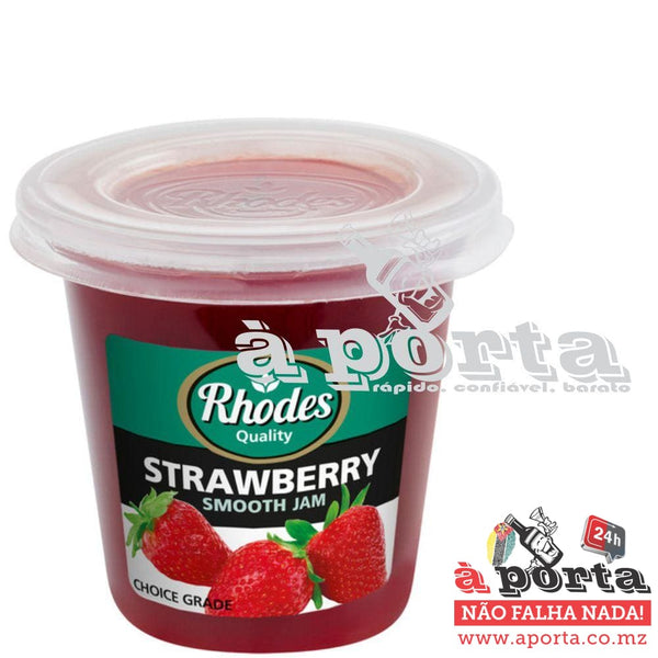 Jam Strawberry Rhodes 290g - cans