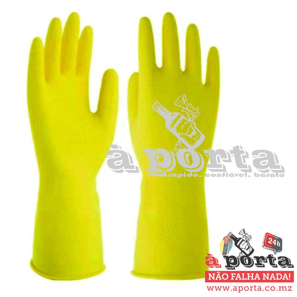 Luvas Latex houseHold Gloves - LIMPEZA