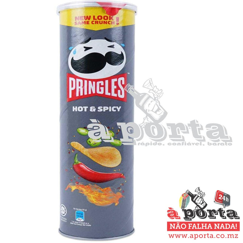 Pringles Hot & Spicy 100g - CHIPS