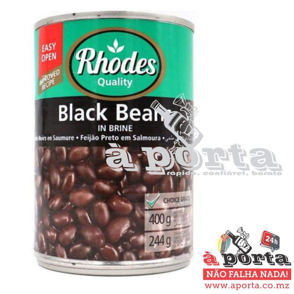 Feijao Rhodes Preto 400g - cans