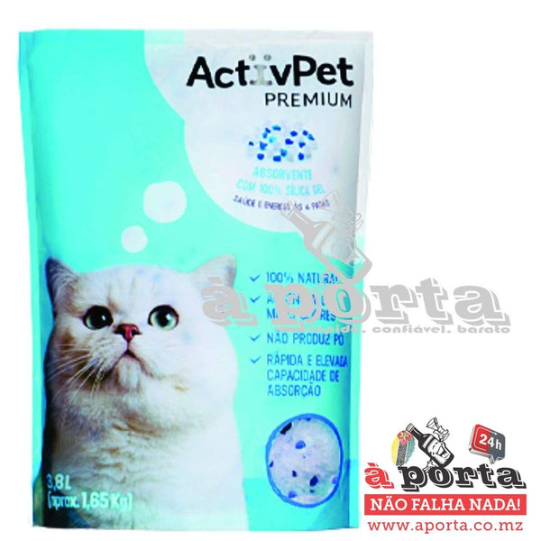 Silica Gell ActivePet 3.8lt - ANIMAL