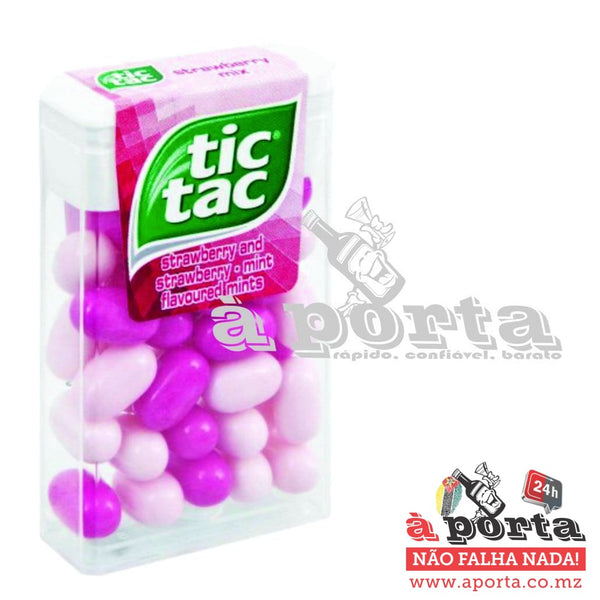 TIC TAC 16g Sweets Strawberry Mix - CHO&SWEET