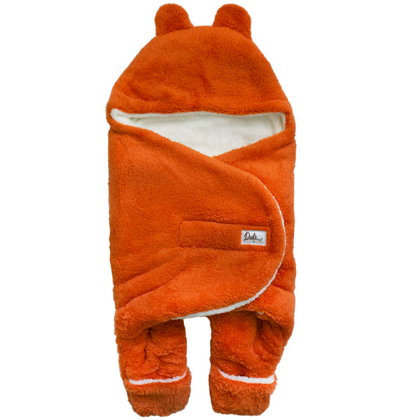 Owli Outdoor Sleeping Bag Orange 0-6 Months