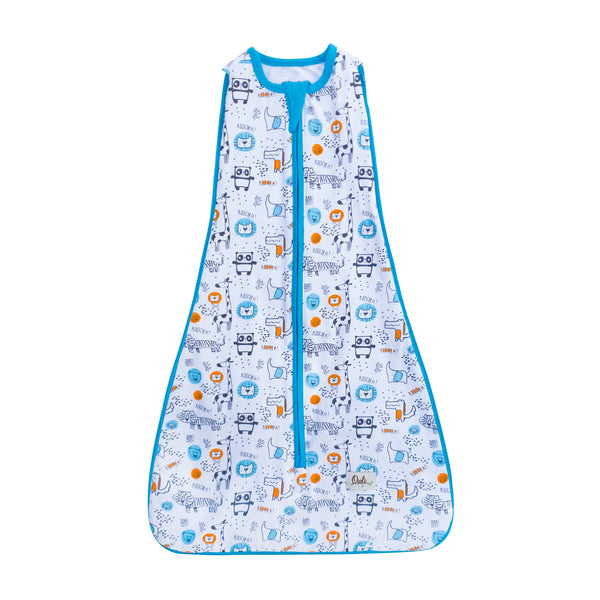 New Owli Sleeping Guru Swaddle/Sleeping Bag 0.3 TOG Safari