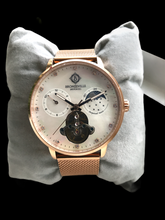 Load image into Gallery viewer, Rose Gold Classy Lady Renaissance Automatic (Mother of Pearl Dial)