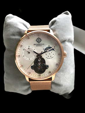 Rose Gold Classy Lady Renaissance Automatic (Mother of Pearl Dial)