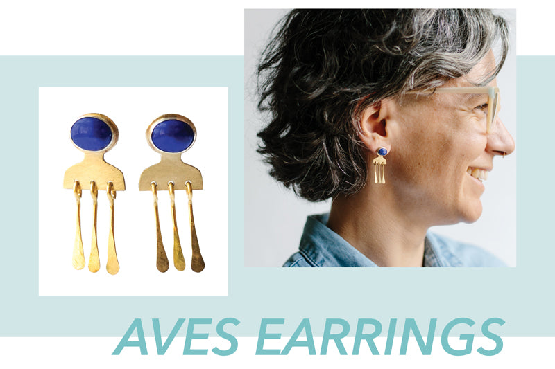 Aves Earrings by Kari Phillips