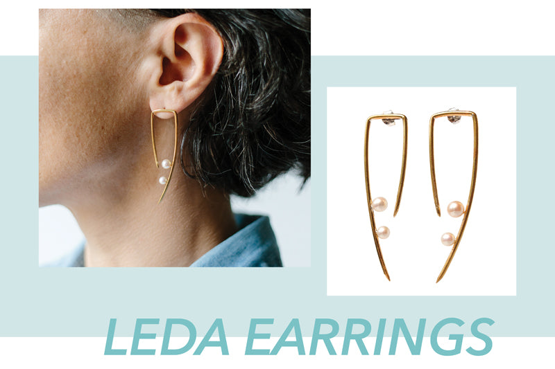 Leda Earrings by Kari Phillips