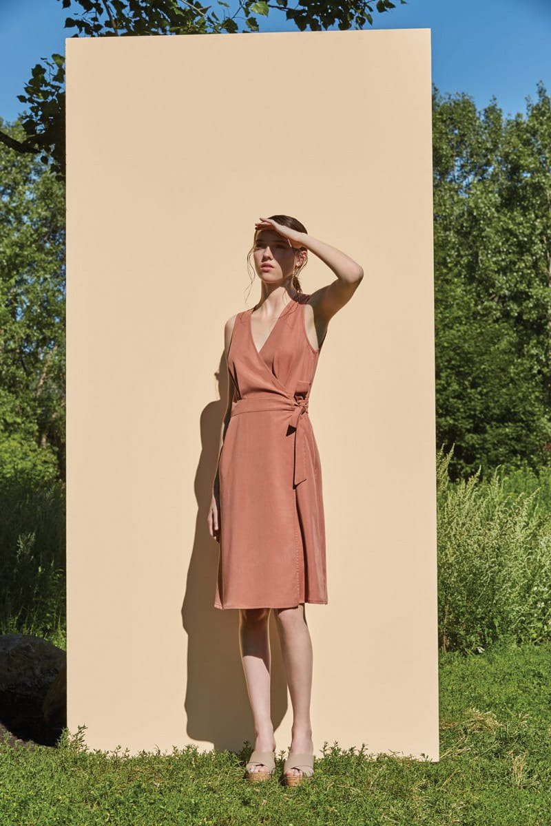 Eve Gravel Les Voisins Dress in Blush