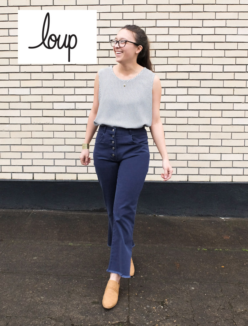Loup Sienna Jeans in Navy
