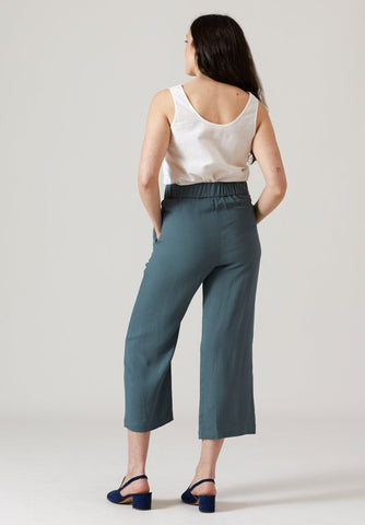 pleated high rise pants north of west