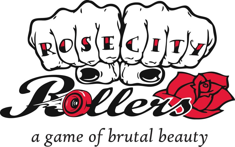 Rose City Rollers Logo