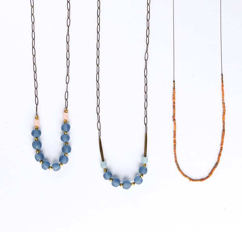 Sulu Design beaded necklaces