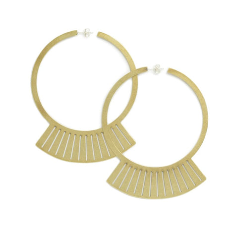betsy & iya canto collection uba hoops