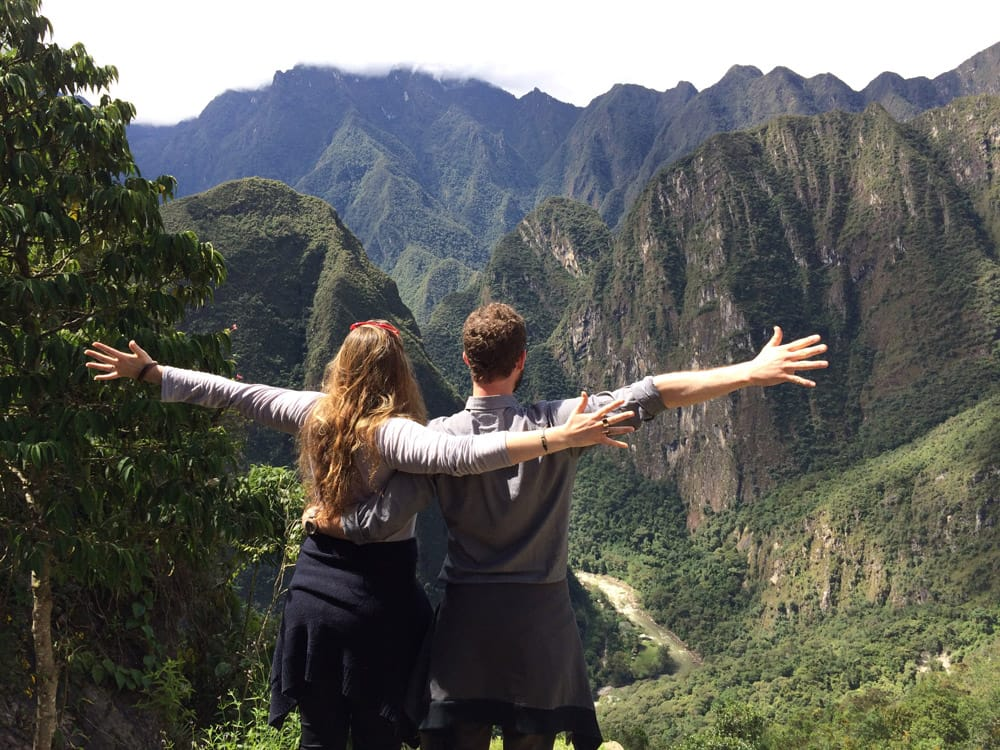 Betsy Cross & Will Cervarich in Peru