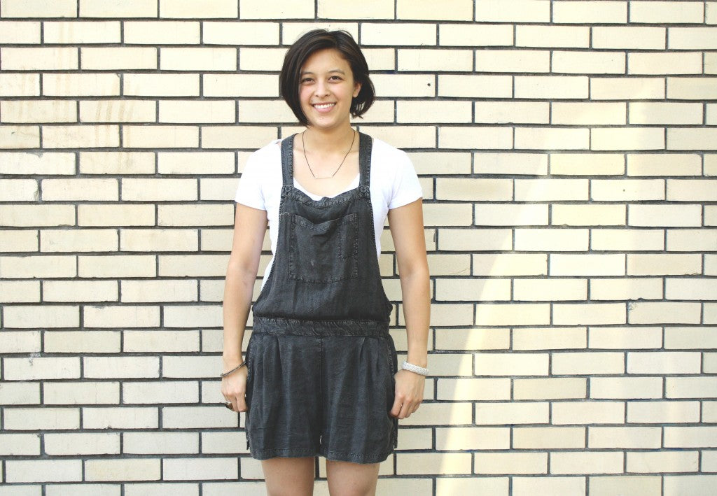 casual cool short overalls