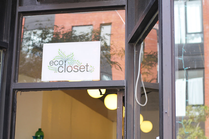 Eco Closet store front
