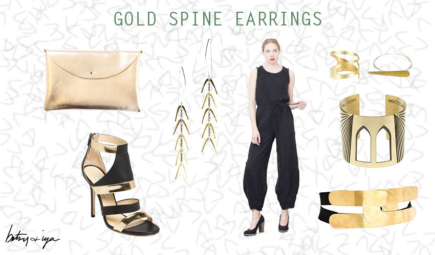 Gold Spine Style board