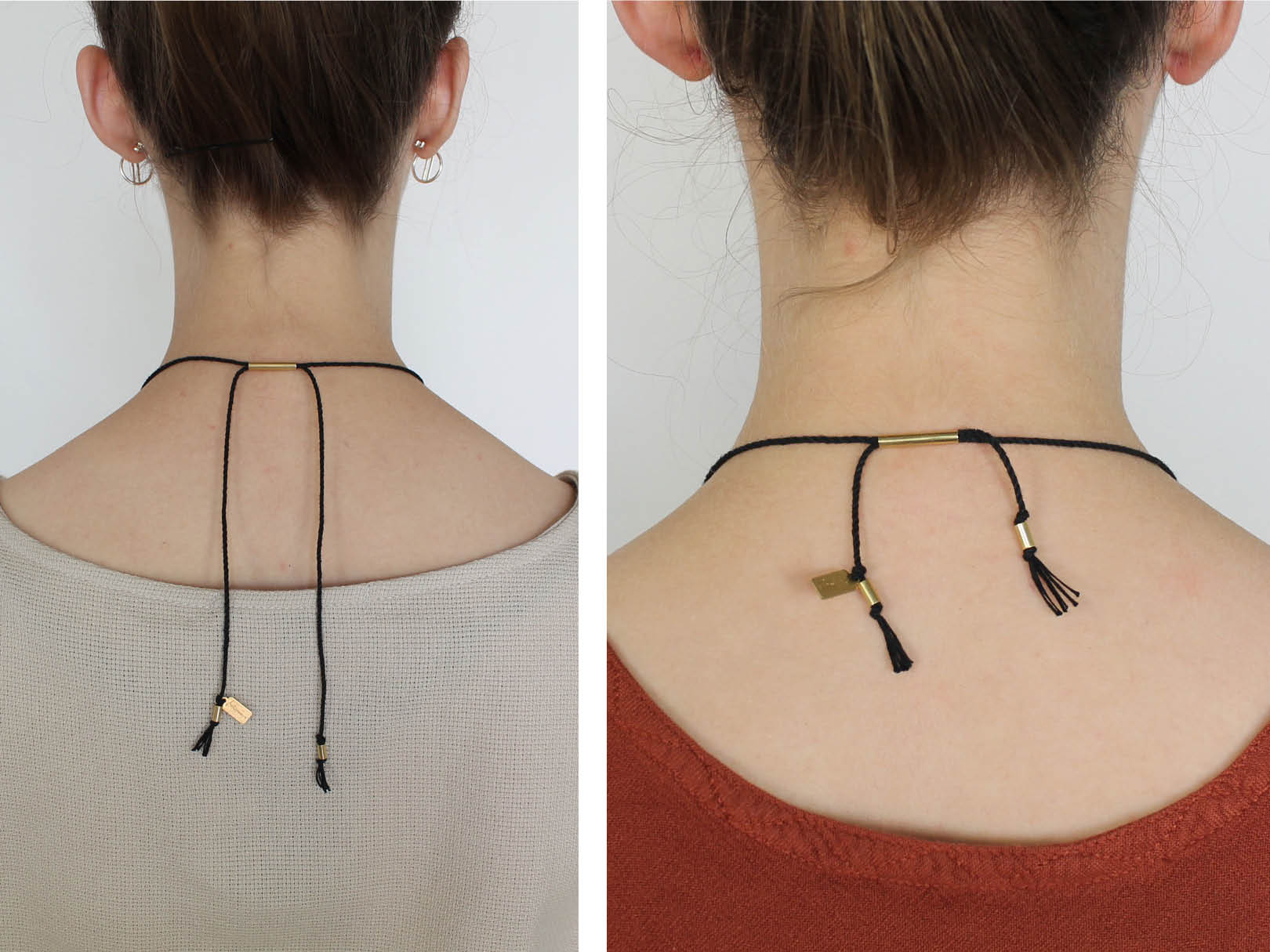 long adjustable necklace