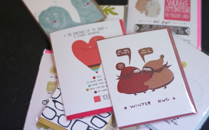 Valentine's Day Cards Betsy and Iya Jewelry