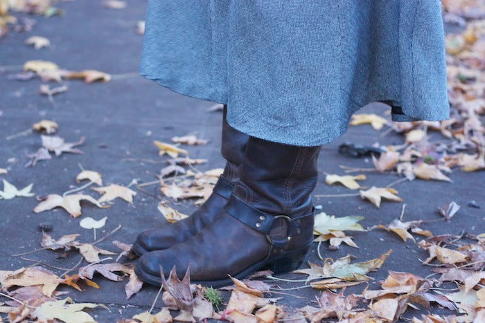 Oh! and dreamy boots to match? You best believe it!
