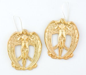Athena Angel earrings