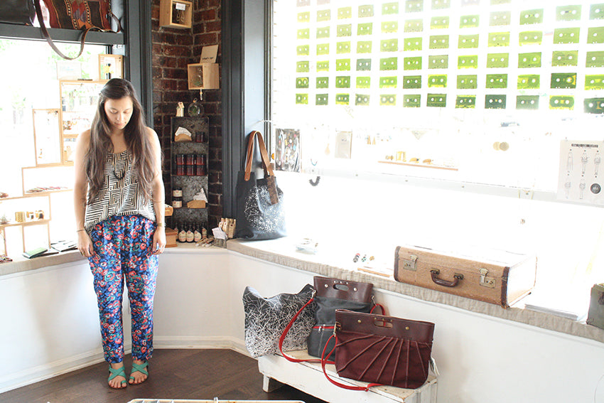 betsy and iya_ootd_Barrie prints 1