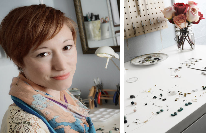 Pacific Northwest jewelry designer Amy Olson